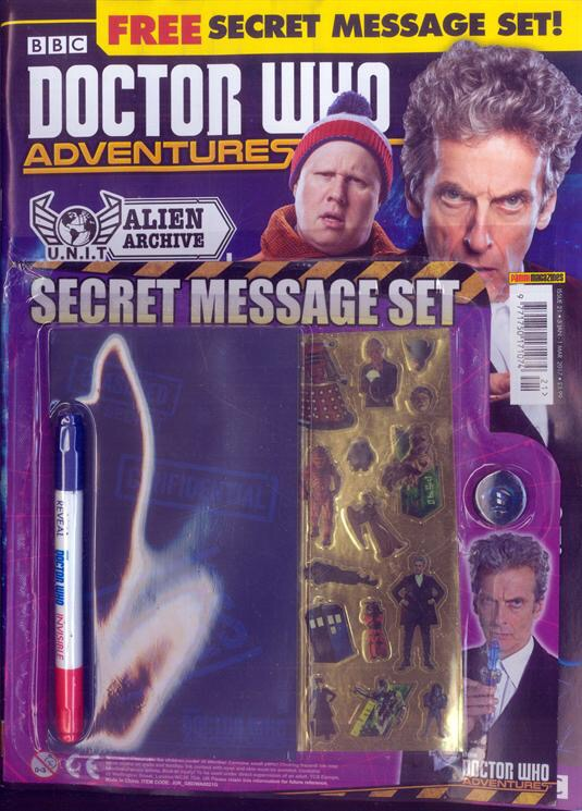 Doctor Who Adventures Magazine Issue 21 (Panini)