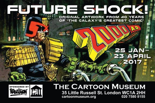 Future Shock! 40 Years of 2000AD - Poster