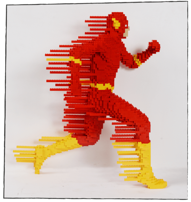 The Art of Brick: DC Super Heroes - Flash