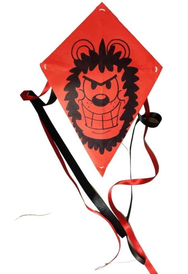 Make a Gnasher kite - it'll blow you away!