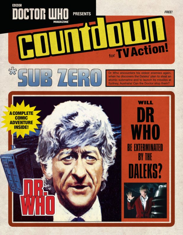 Doctor Who Magazine Issue 508 - *Sub Zero Supplement Cover