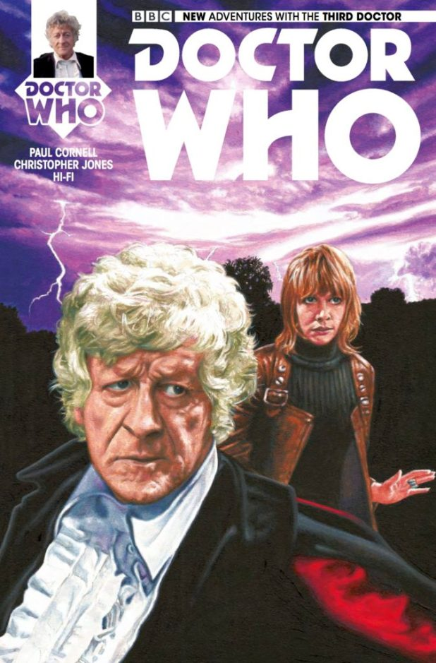 Doctor Who: The Third Doctor - Heralds of Destruction #4 Cover A by Andy Walker