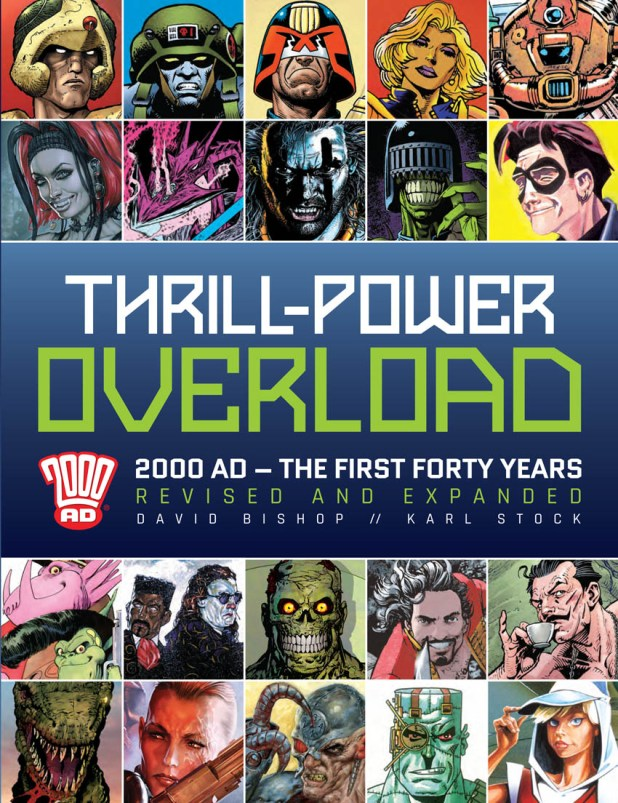 Thrill-Powered Overload - 2017 Cover