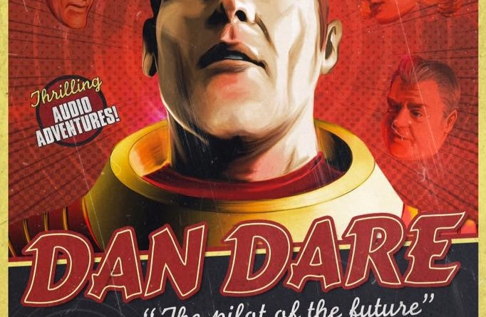 Dan Dare: The Audio Adventures Volume Two - Promotional Art by Sugary Tea