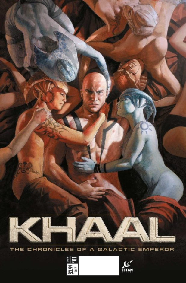 Khaal #1 Cover A by Valentin Sécher