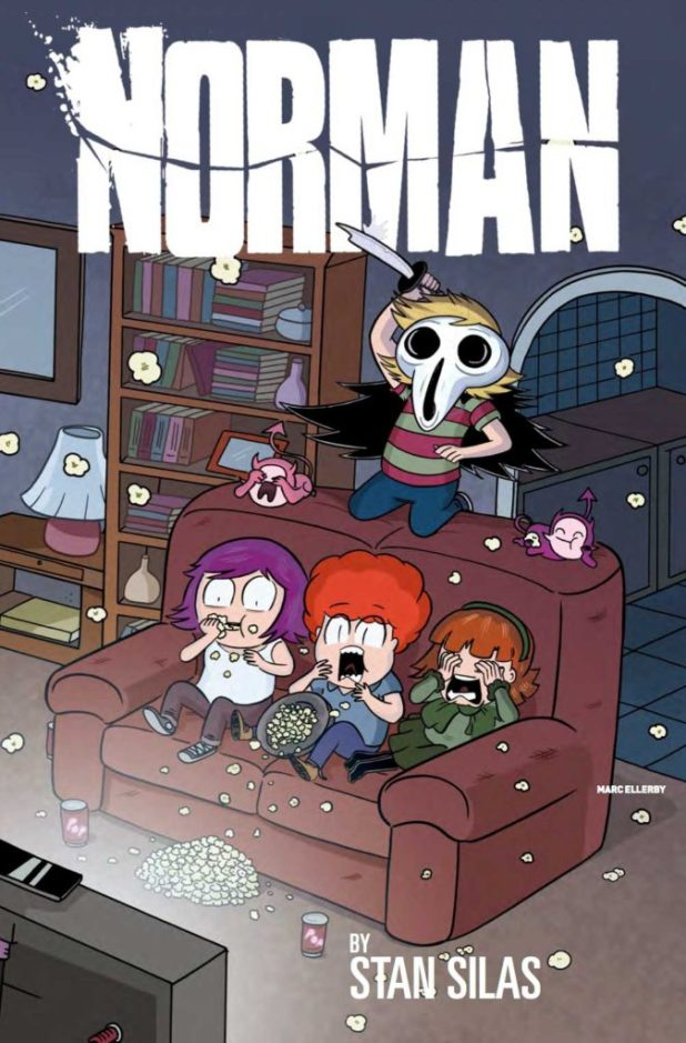 Norman Volume 2 Cover A by Marc Ellerby