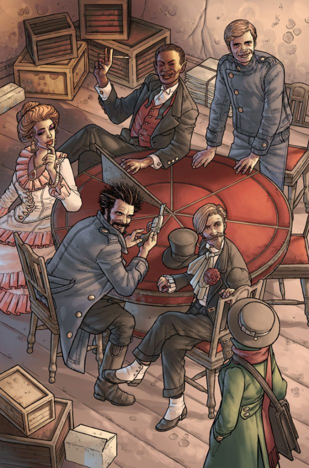 Kim Newman's Anno Dracula Issue #1 Preview 6