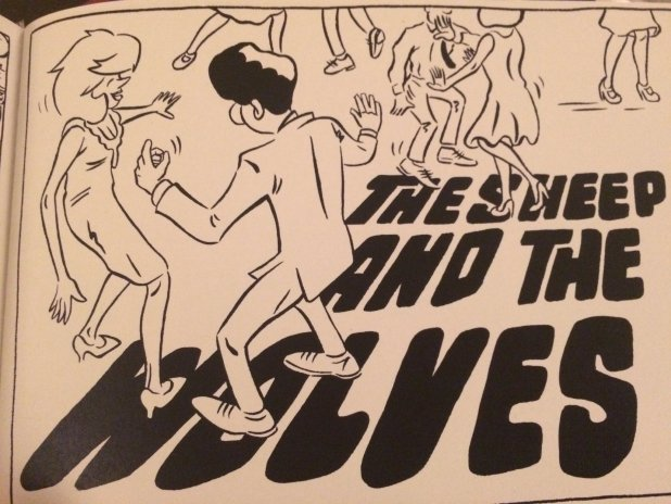 The Sheep and the Wolves - Promo art by Nick Prolix