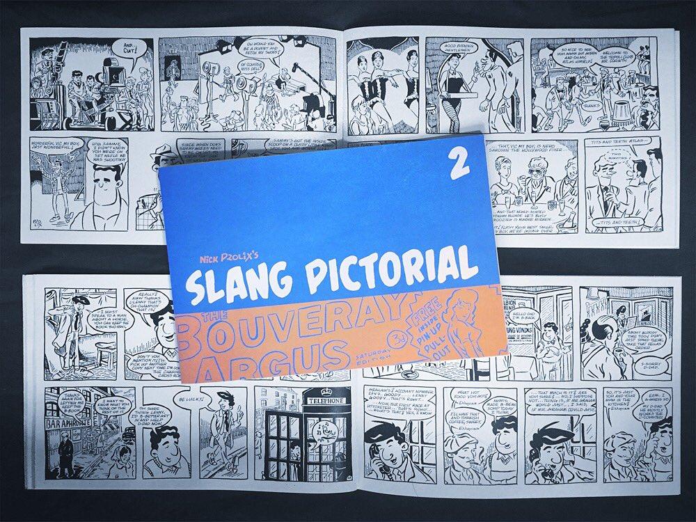 I anmeldelse Slang Billedkunst Issue To af Nick vidtløftig-5563