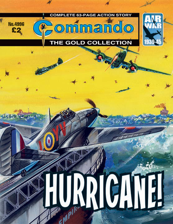 Commando 4996 – Hurricane!