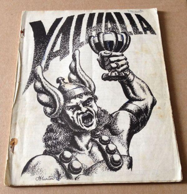 Utopia/ Valhalla Issue One - Valhalla Cover