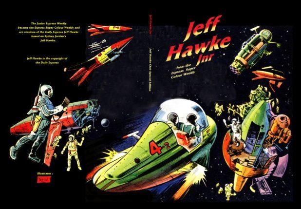 Jeff Hawke Jnr. - Cover