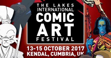 Lakes International Comic Art Festival Promo Image (LICAF)
