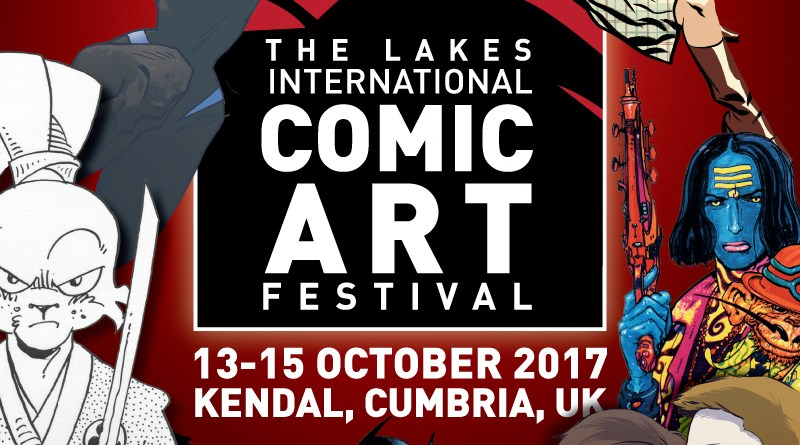 Lakes International Comic Art Festival Promo Image (LICAF)