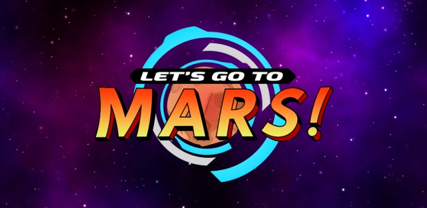 Let's Go to Mars - Logo