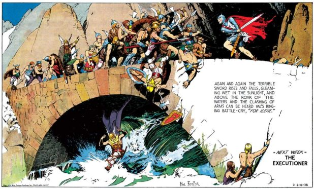 Prince Valiant, 6th February 1938