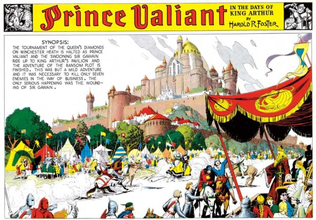 Prince Valiant, 30th October 1937