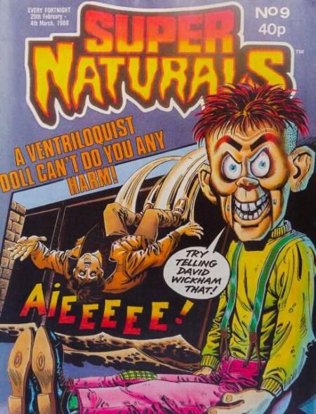 Super Naturals Issue Nine - Cover