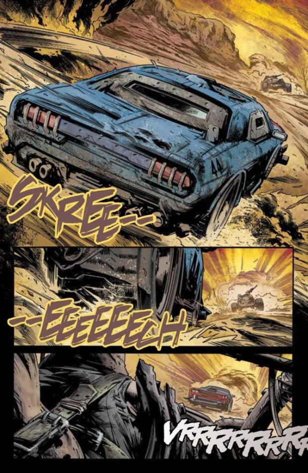 Freeway Fighter #1 - Preview 2