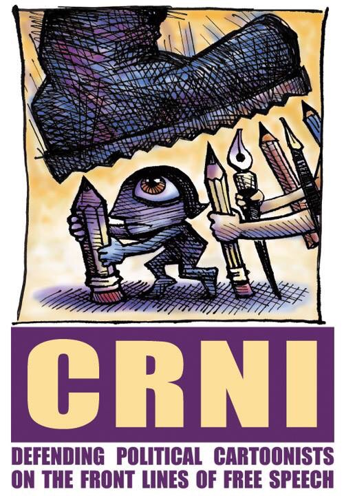 Cartoonists Tights International Network Logo