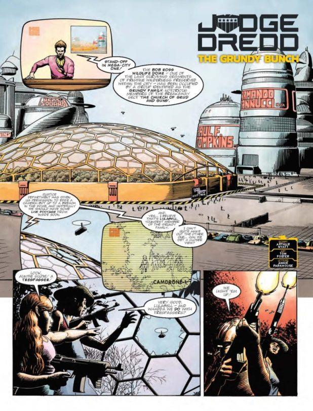 2000AD 2022 - Judge Dredd: The Grundy Bunch
