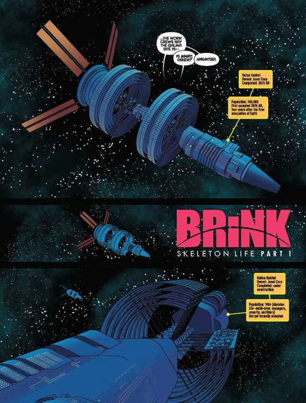 2000AD 2023 - Brink: Skeleton Life