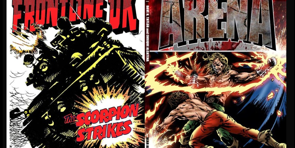 Last Chance to get your hands on some classic British comic collections from Bear Alley Books!