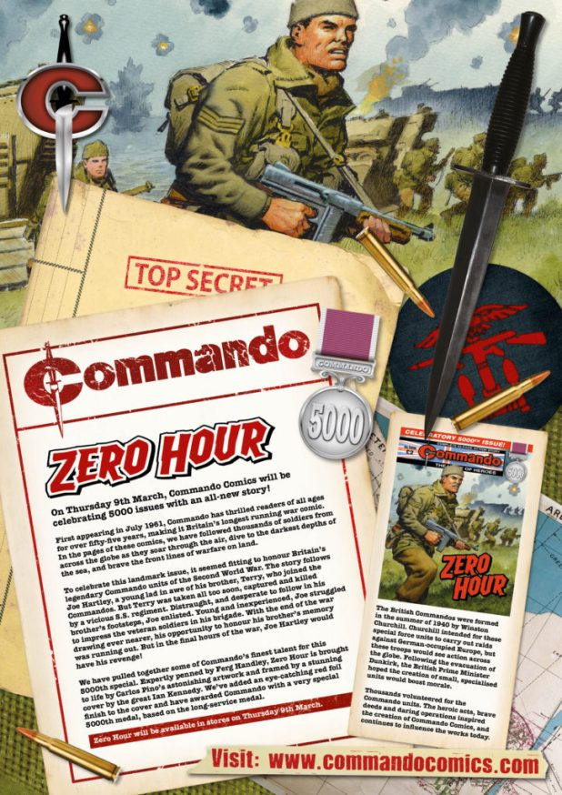 Commando 5000 – Zero Hour Introduction