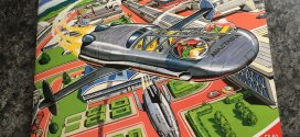 A Martian Menace invades Spaceship Away – the official, Dan Dare-inspired comics magazine
