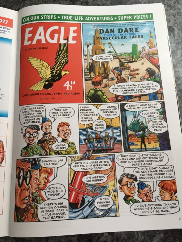 Dan Dare: Parsecular Tales by Tim Booth