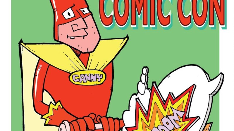 Canny Comics Goings on in Newcastle this Saturday!