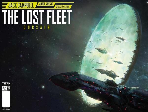 Lost Fleet: Corsair #1 Cover B - wraparound cover by David Demaret