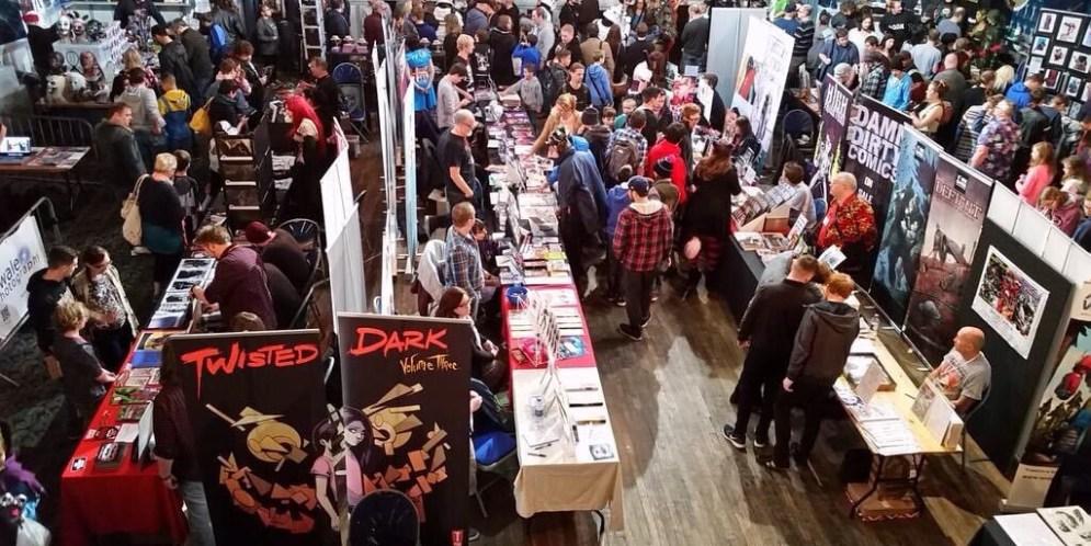 Leamington Comic Con on Saturday
