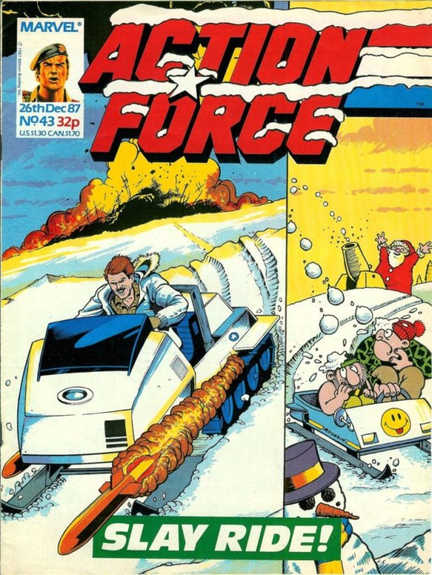 Action Force 43 - Cover featuring Combat Colin