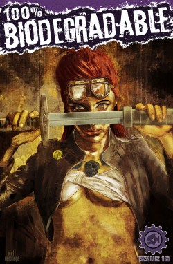 Cover by Brett Burbridge featuring Rourke of the Radlands
