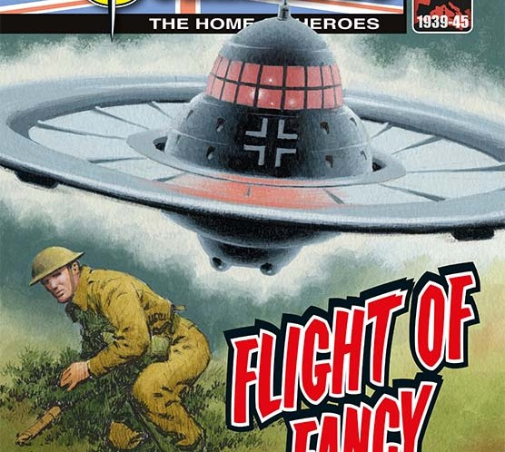 Killer Commandos Stalk Your Newsagent This Week – and there's flying saucers on the loose, too!