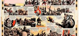"Frank Bellamy ""Heros the Spartan"" Art Goes Under the Hammer"