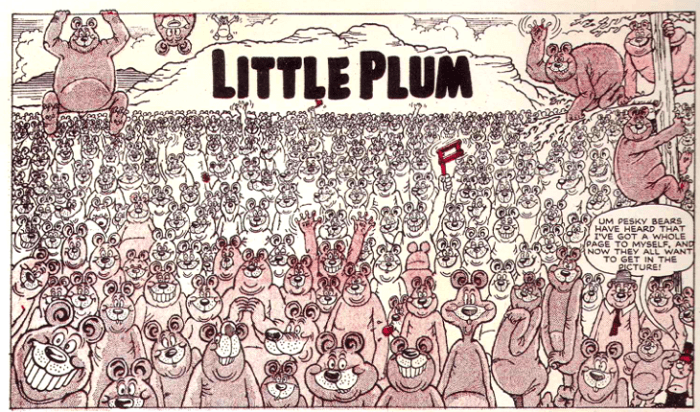 """Little Plum"" for The Beano Issue 880, by Leo Baxendale"