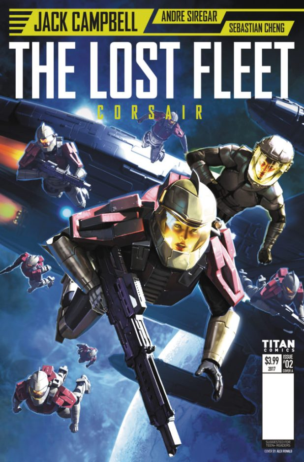 Lost Fleet #2 Cover A by Alex Ronald