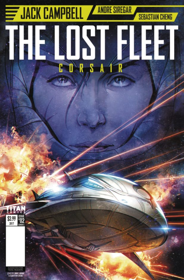 Lost Fleet #2 Cover C by Marc Laming and Sebastian Cheng