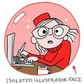 Sarah McIntyre - Isolated Illustrator Face