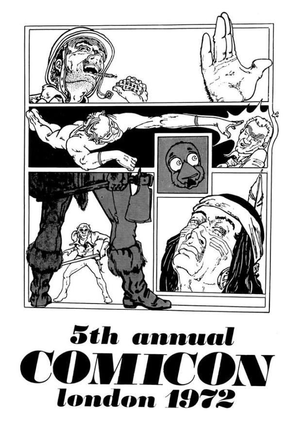 COMICON 72 Convention Booklet - Cover