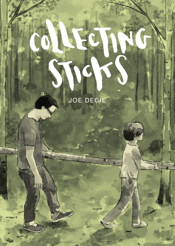 Collecting Sticks by Joe Decie - Cover