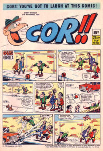 Cor!! Issue One - Small