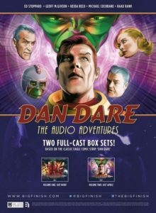 Dan Dare Audio Adventures Volumes One and Two Poster