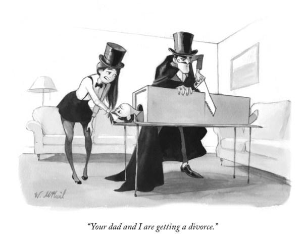 Gag cartoon by Reuben Award nominee Will McPhail