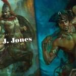 The Sci-Fi & Fantasy art of Patrick J. Jones - Promotional Art