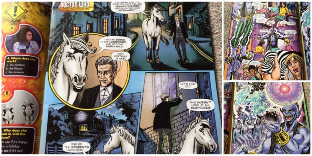 New Doctor Who Adventures Out Now – We'll Shout that 'til we're Horse!