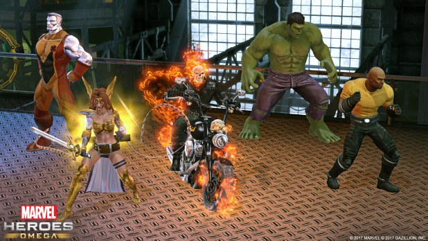 Marvel Heroes Omega - Castle Group