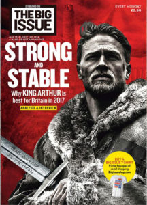 The Big Issue 1256 features eight pages of comics